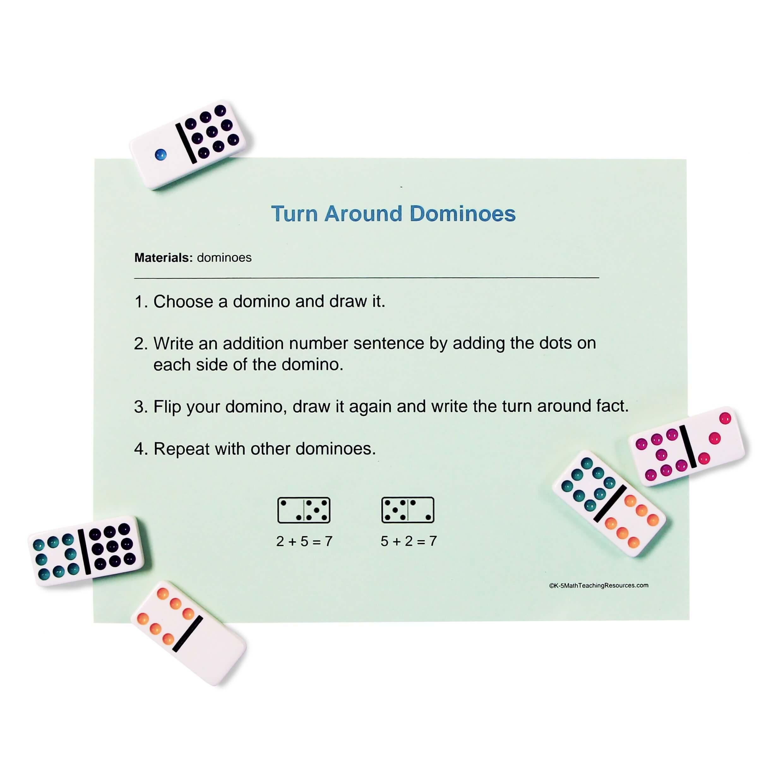 1.OA.B.3 Turn Around Dominoes