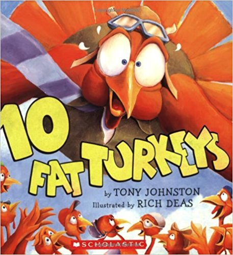 Subtraction Read Aloud: 10 Fat Turkeys