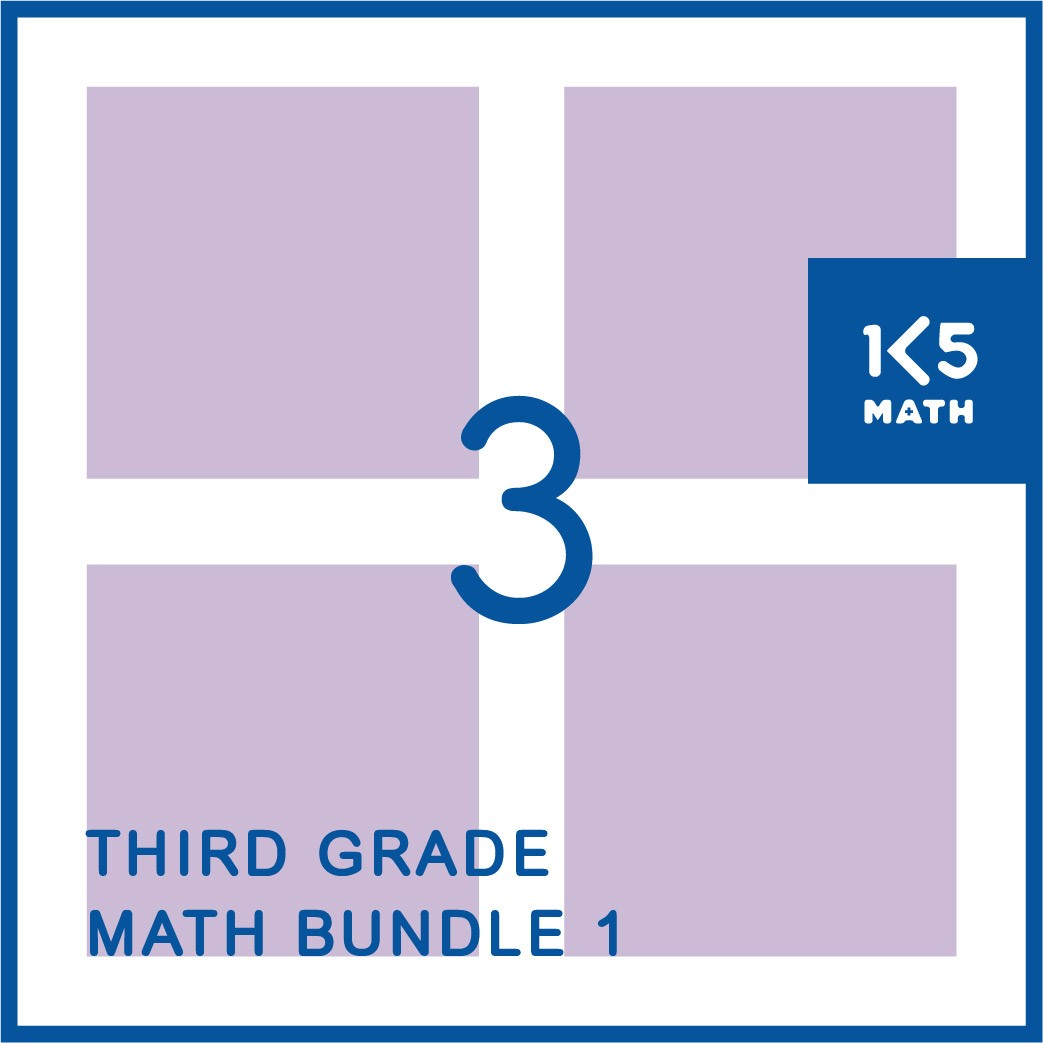 3rd Grade Math Bundle: Packed with resources for the 3rd Grade math classroom