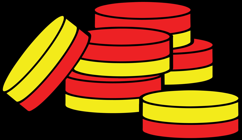 2 color counters clip art