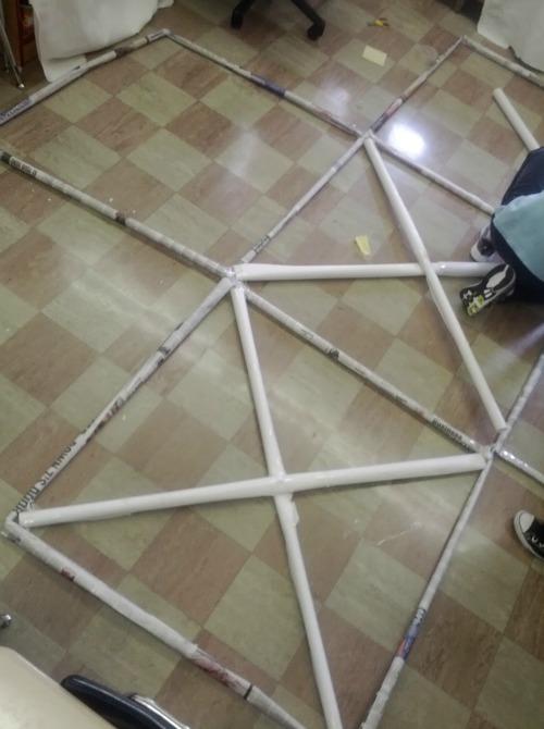 Build a cubic meter