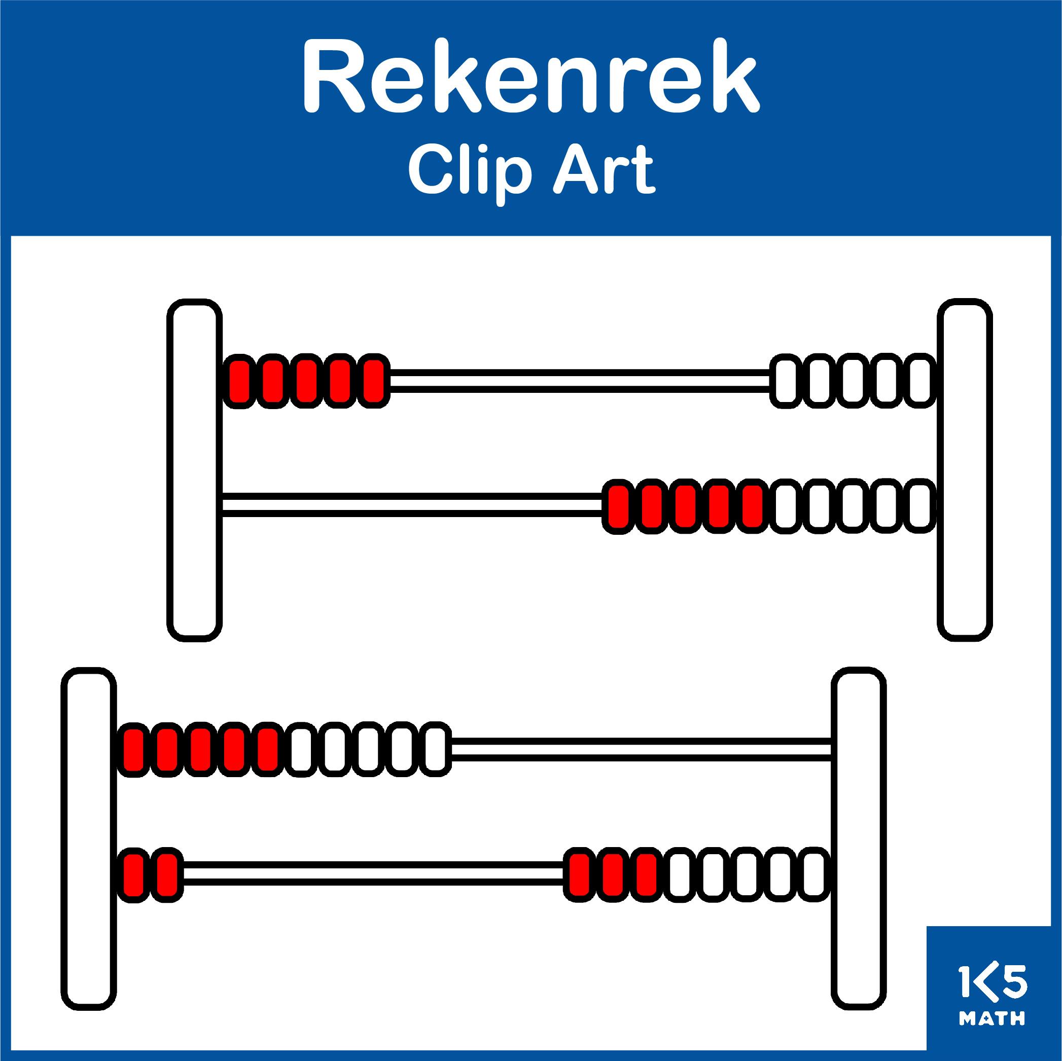 Rekenrek Clip Art