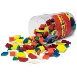 Using pattern blocks to teach fractions