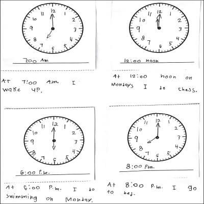 1st Grade Math Journal Task 117