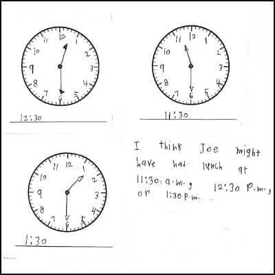 1st Grade Math Journal Task 121