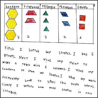 1st Grade Math Journal Task 122