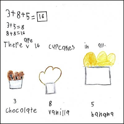 1st Grade Math Journal Task 22