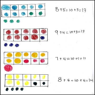 1st Grade Math Journal Task 49