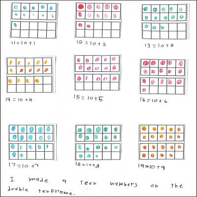 1st Grade Math Journal Task 69