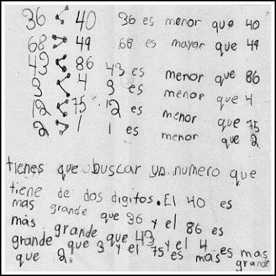 1st Grade Math Journal Task 76