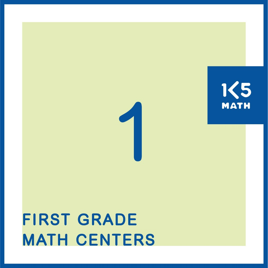 Over 150 1st Grade Math Centers for Number, Geometry, Measurement and Data