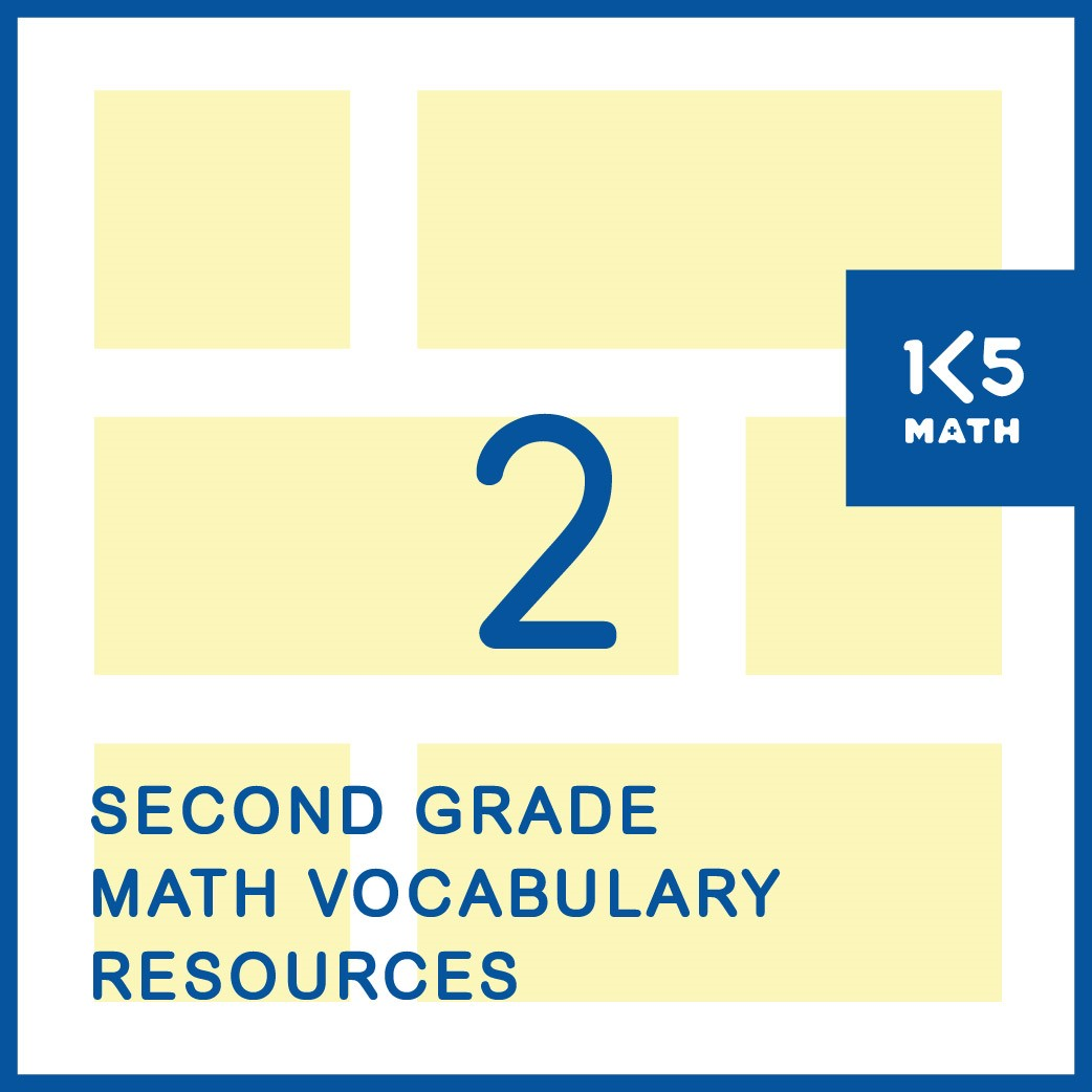 2nd Grade Math Vocabulary Resources