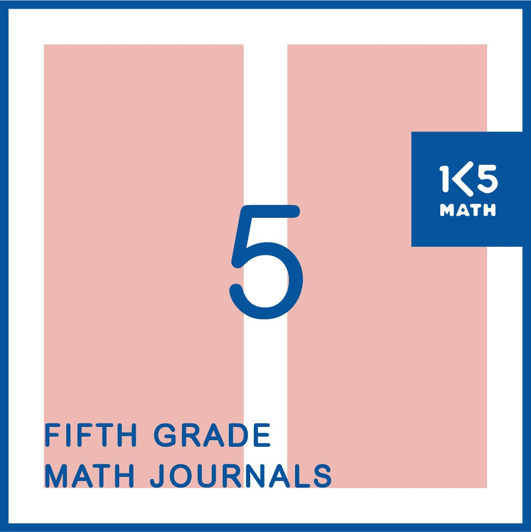 5th Grade Math Journals: Available in English and Spanish