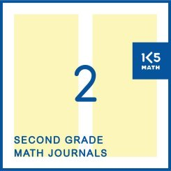 2nd Grade Math Journals: Available in English and Spanish