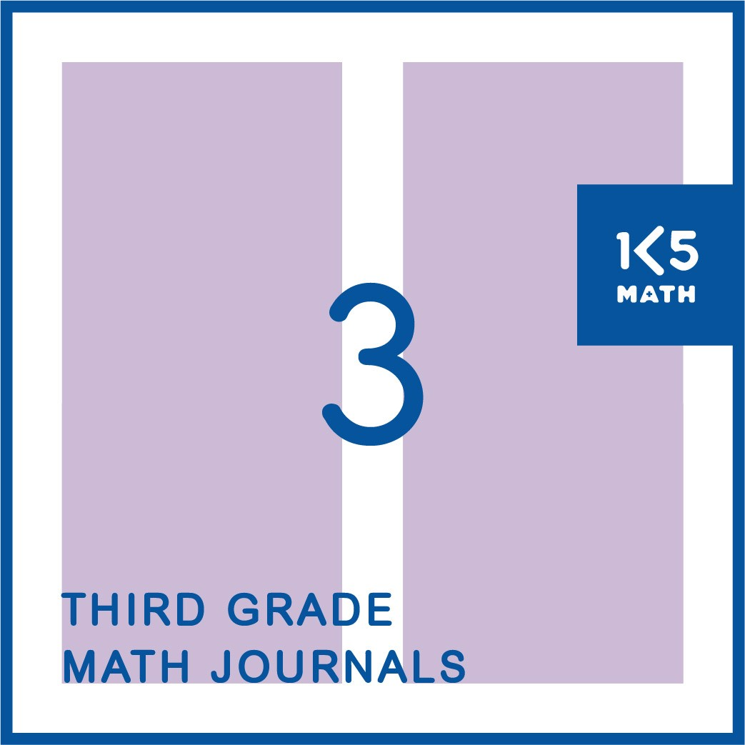 3rd Grade Math Journals: Available in English and Spanish