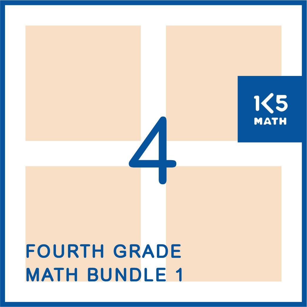 4th Grade Math Bundle 1