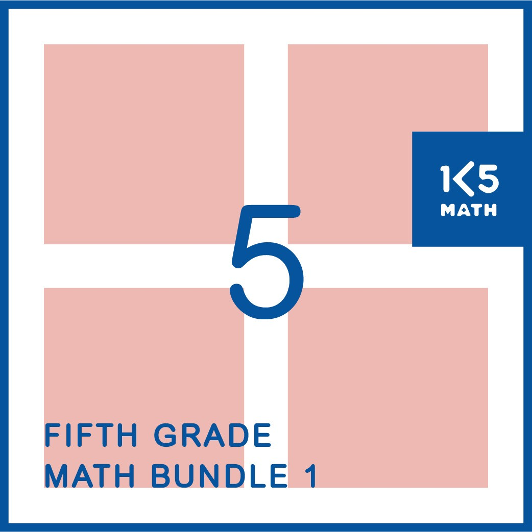 5th Grade Math Bundle 1