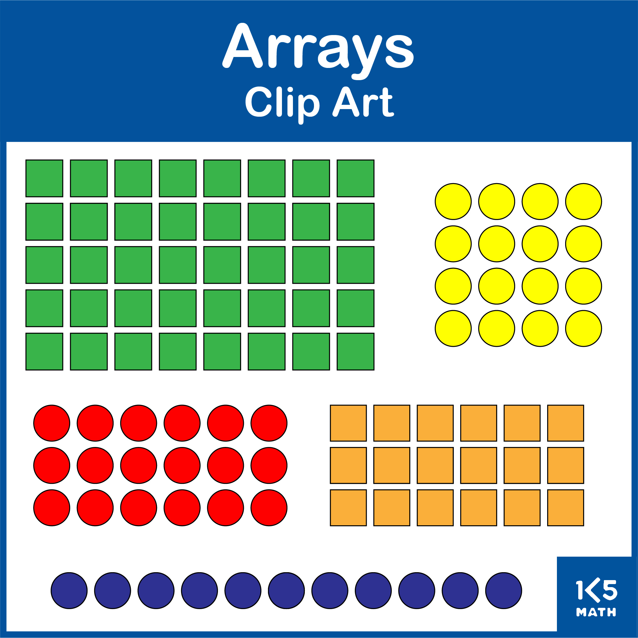 Arrays Clip Art