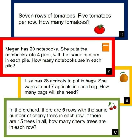 3rd Grade Math: Multiplication and Division Word Problems within 100