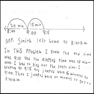 3rd Grade Math Journal Task 57