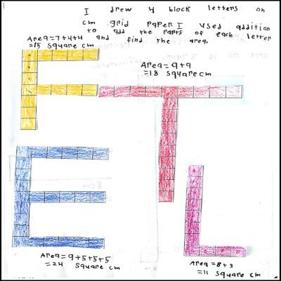 3rd Grade Math Journal Task 70