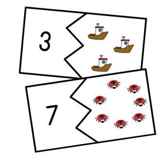 Counting Jigsaws 0-25