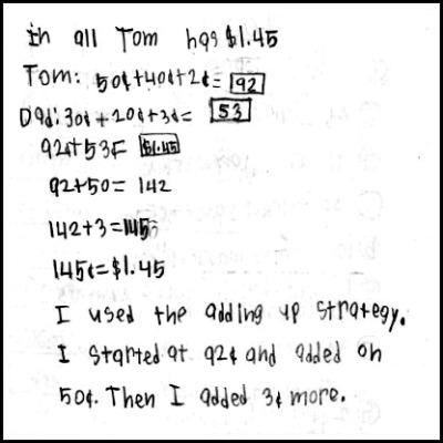 2nd Grade Math Journal Task 69