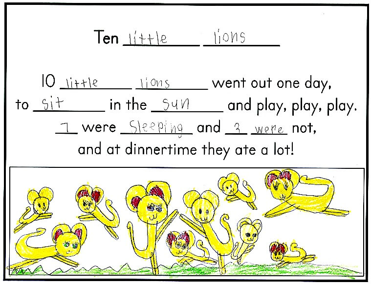 44 Counting Rhymes to develop math and literacy skills
