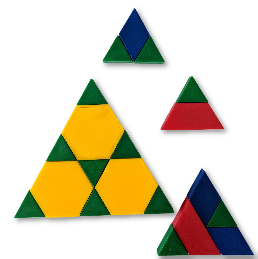 1st Grade Geometry: Make a Triangle
