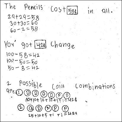 3rd Grade Math Journal Task 21