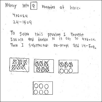3rd Grade Math Journal Task 22