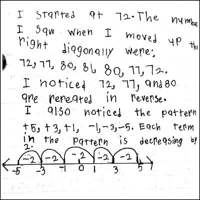 3rd Grade Math Journal Task 25