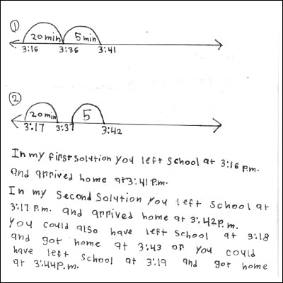3rd Gd Math Journal Task 107