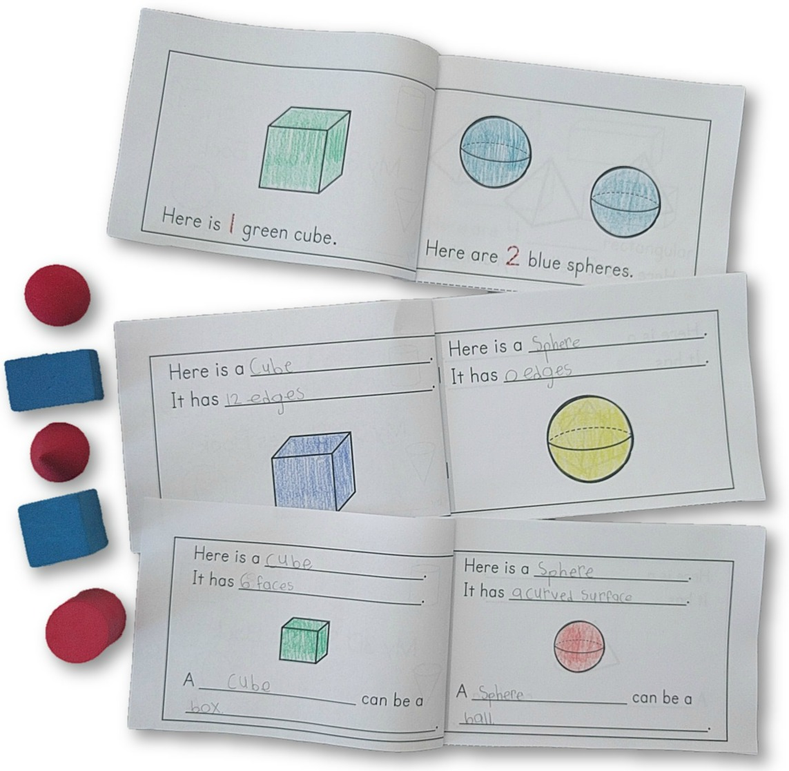 My 3D Shapes Book (ver. 1 - 3)