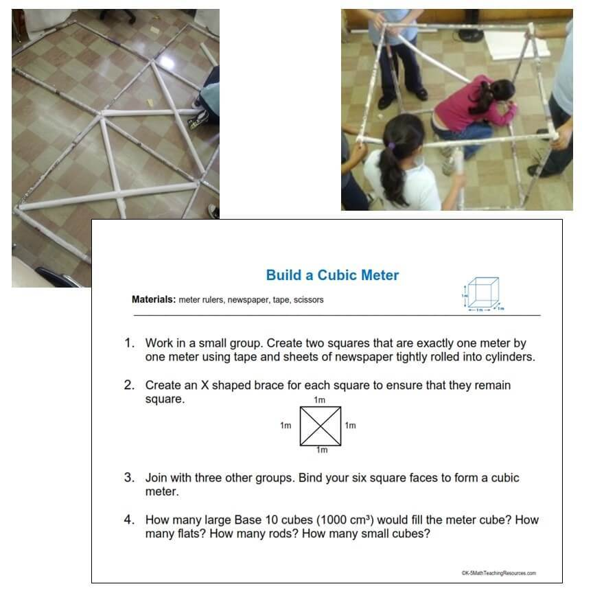 5.MD.C.3 Build a Cubic Meter