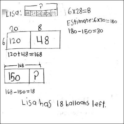 4th Grade Math Journal Task 11