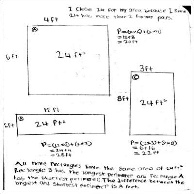 4th Grade Math Journal Task 132