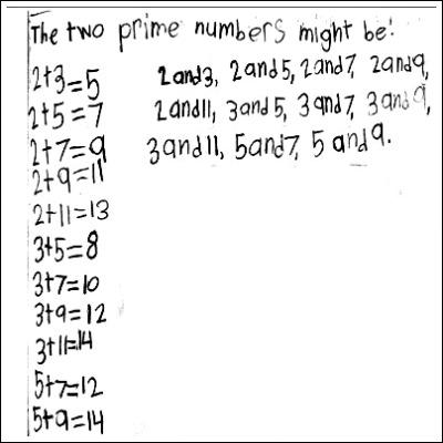 4th Grade Math Journal Task 28
