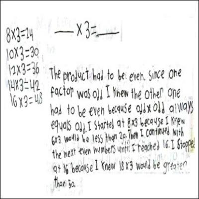 4th Grade Math Journal Task 29