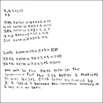 4th Grade Math Journal Task 32