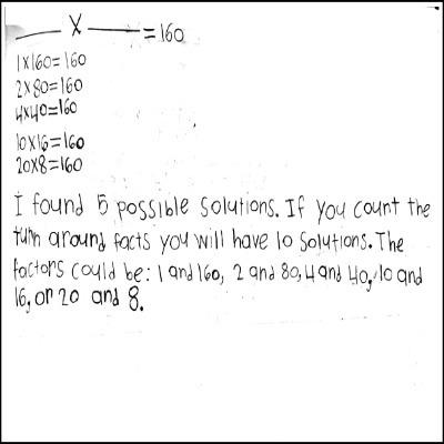 4th Grade Math Journal Task 56