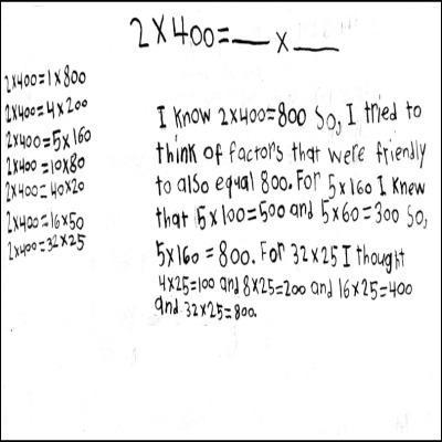 4th Grade Math Journal Task 58