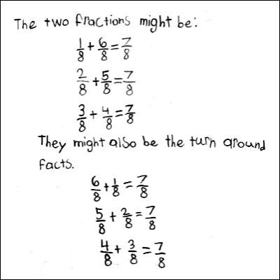 4th Grade Math Journal Task 78