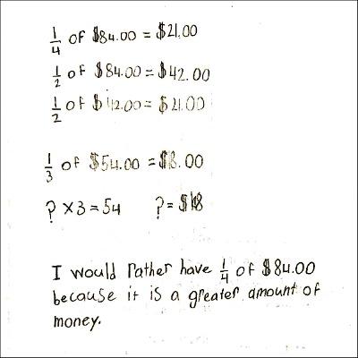 4th Grade Math Journal Task 97