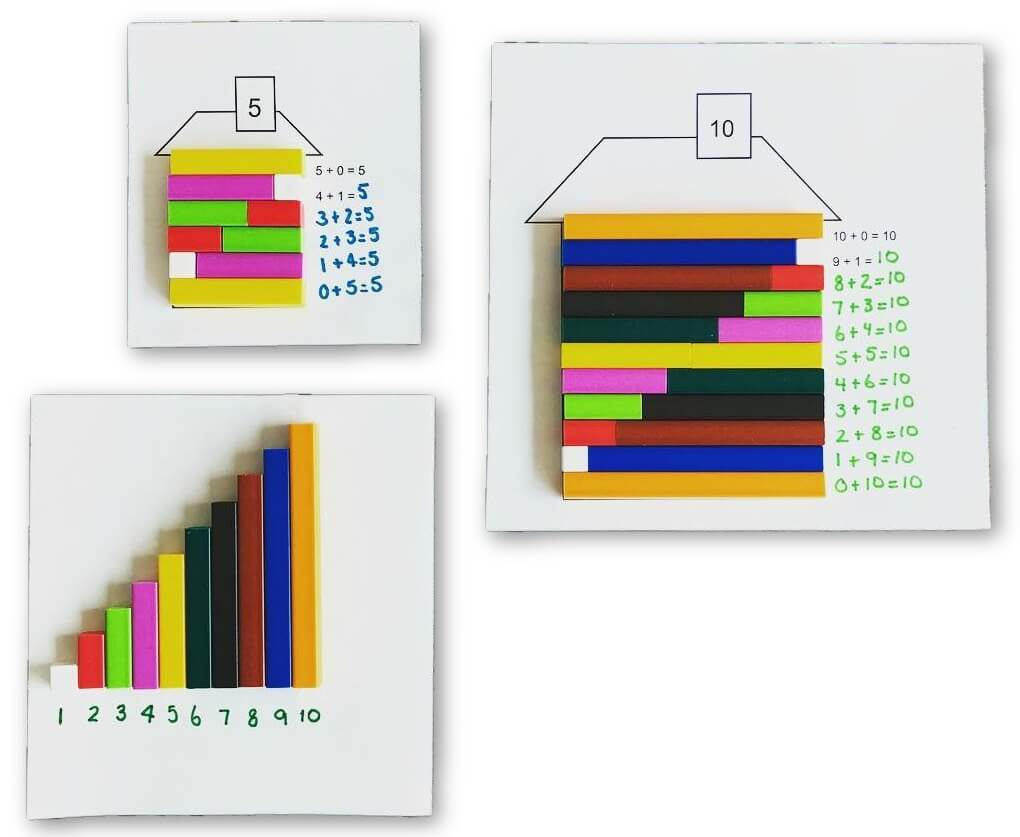1.OA.6 Build a Cuisenaire House