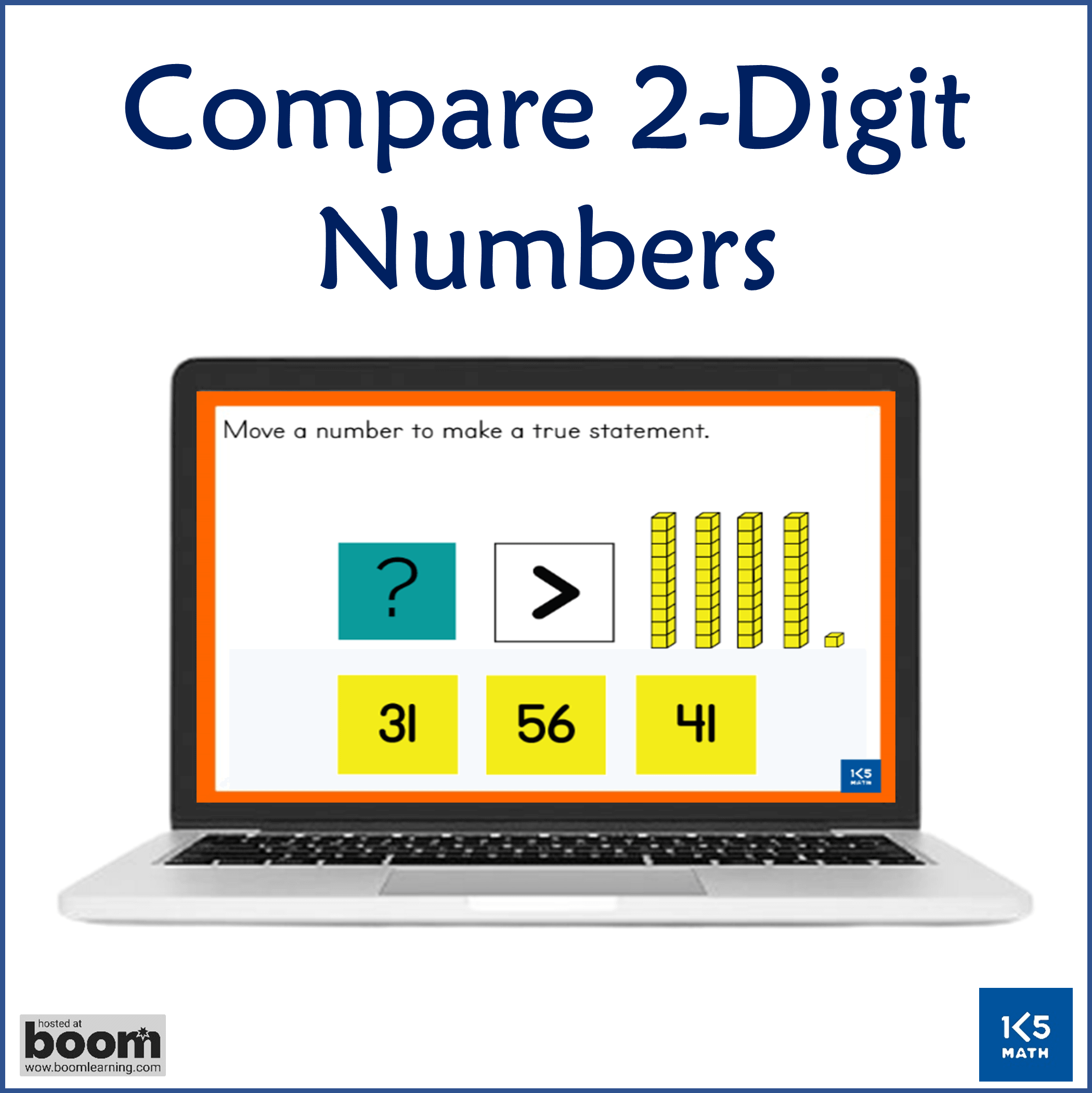 1st Grade Math Boom Card Bundle