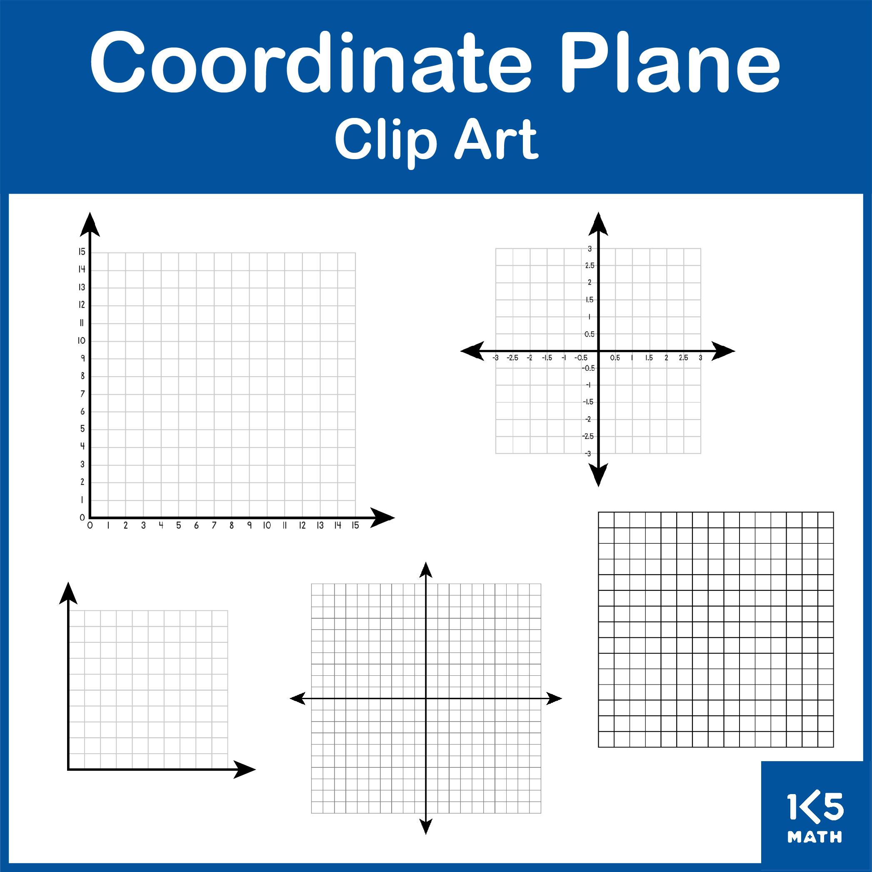 Coordinate Plane Clip Art