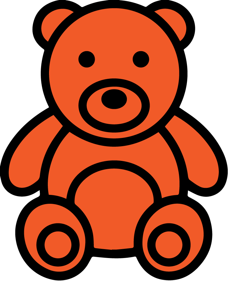 Counting Bear Clip Art