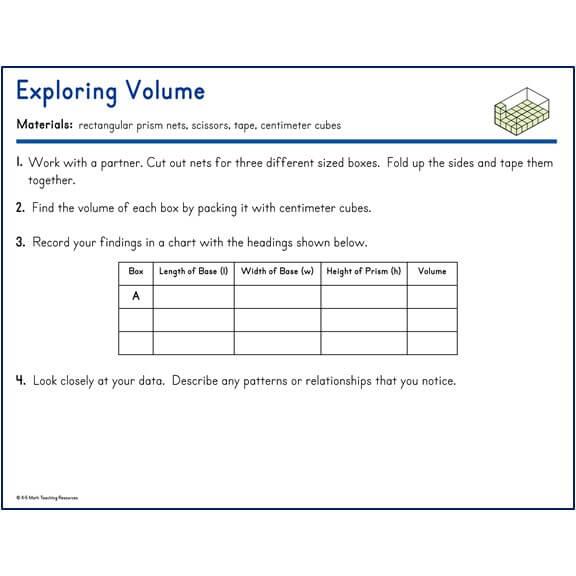 Exploring Volume