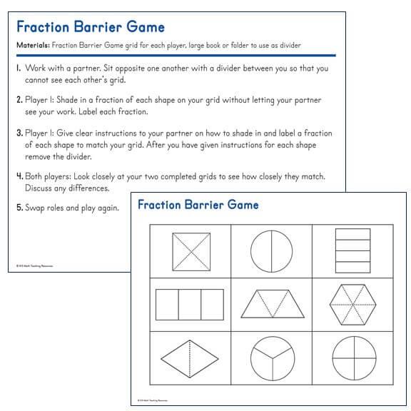 Fraction Barrier Game